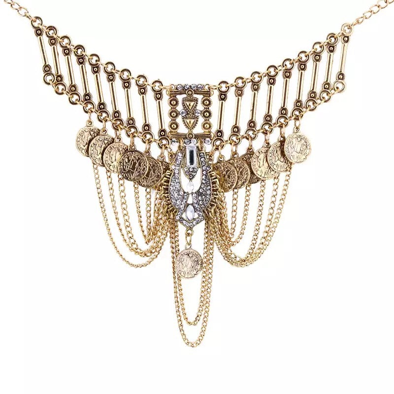 Nova Statement Necklace - LOW STOCK!! - The Songbird Collection