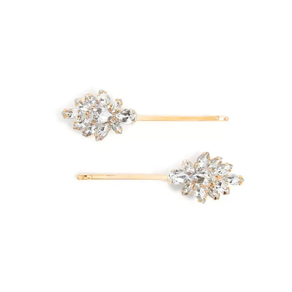 La Soiree Rhinestone Hair Pin Duos - The Songbird Collection