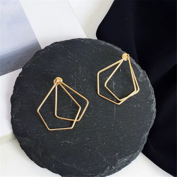 Zendia Geometric Earrings - Hurry! Low Stock!