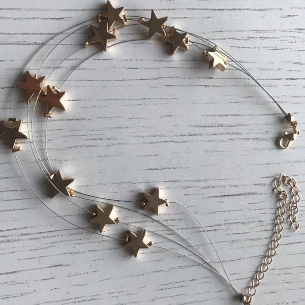 Golden Stars Choker - Now in SILVER TOO!! - The Songbird Collection