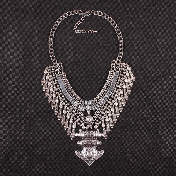 Raynu Maxi Statement Necklace - The Songbird Collection