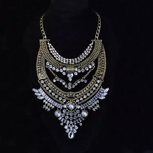 Zia Maxi Statement Necklace - LOW STOCK!