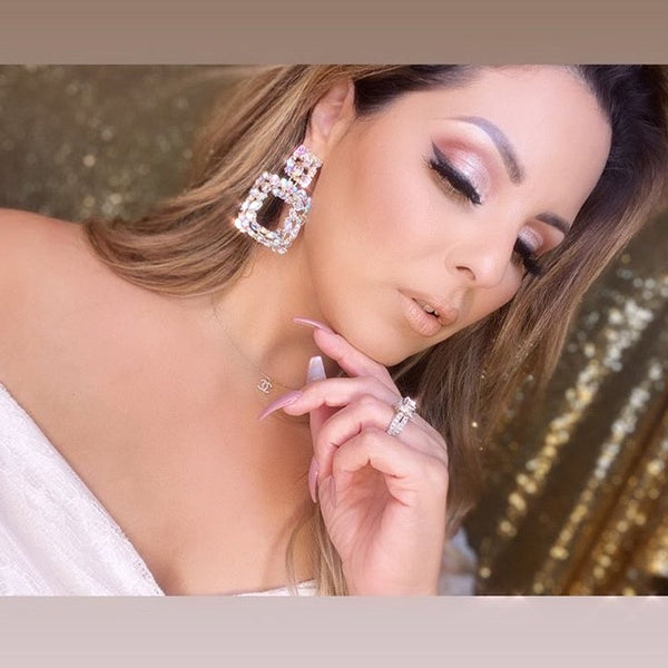 Crysta Brilliance Statement Earrings - 3 Styles in Silver Now! LOW STOCK!!