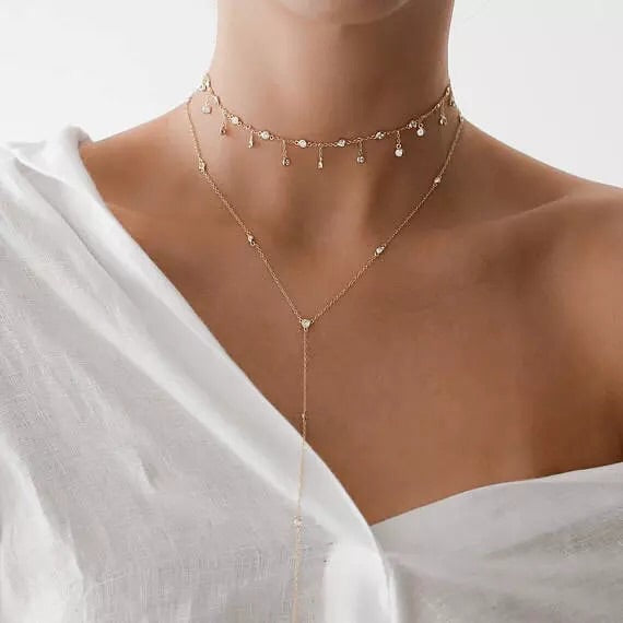 Pandora Twinkle Drops Choker - The Songbird Collection
