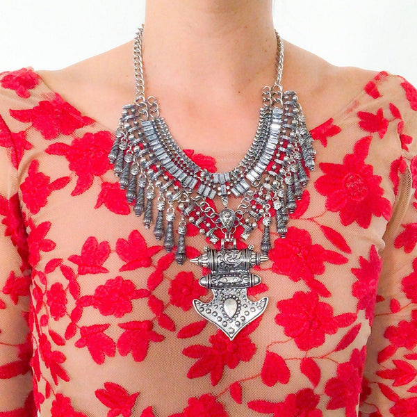 Raynu Maxi Statement Necklace