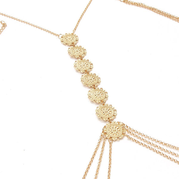 Gypsy Flower Body Chain- RESTOCKED!! - The Songbird Collection