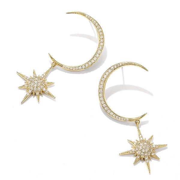 Goodnight Moon Earrings -  RESTOCKED!! - The Songbird Collection
