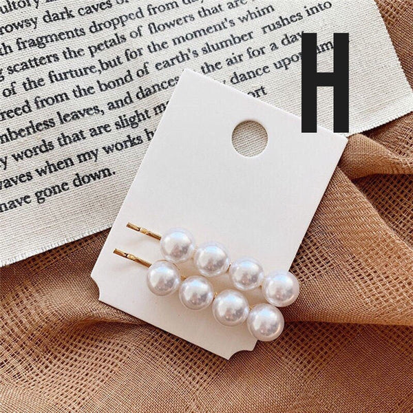 Pearl Hair Pin Set - 12 Sets to Choose From!
