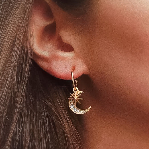 Moonlight Whisper Earrings - The Songbird Collection