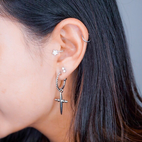 Tragus Ear Clip - 3 Designs, No Piercing Needed! - The Songbird Collection