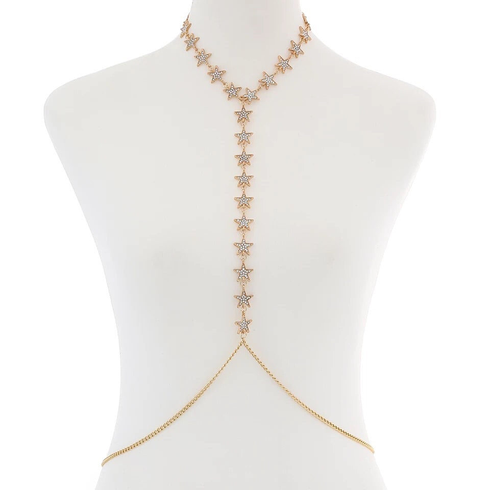 Star Spangled Body Chain - LOW STOCK! - The Songbird Collection