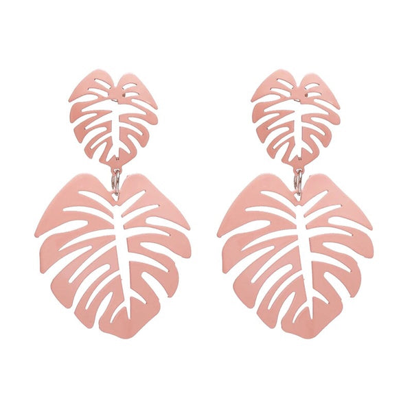 Banana Bay Leaf Earrings -5 Colors! - The Songbird Collection