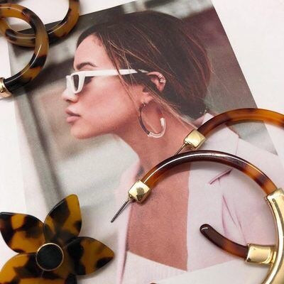 Santa Cruz Hoop Earrings - 9 Colors LOW STOCK! - The Songbird Collection
