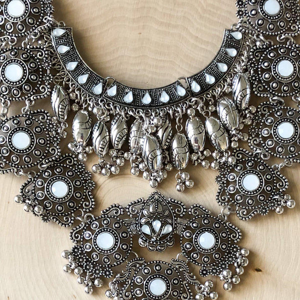 Sacred Lotus Maxi Statement Necklace - The Songbird Collection
