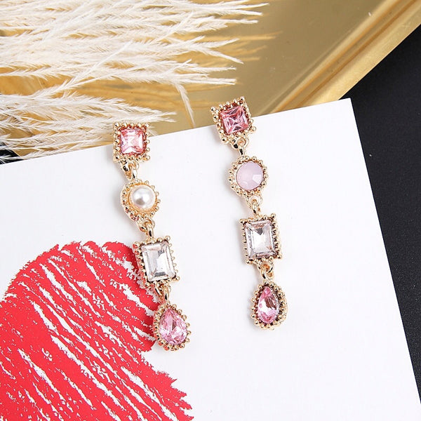 Sophie Sparkle Drop Earrings - 4 Colors, LAST CHANCE! LOW STOCK!! - The Songbird Collection