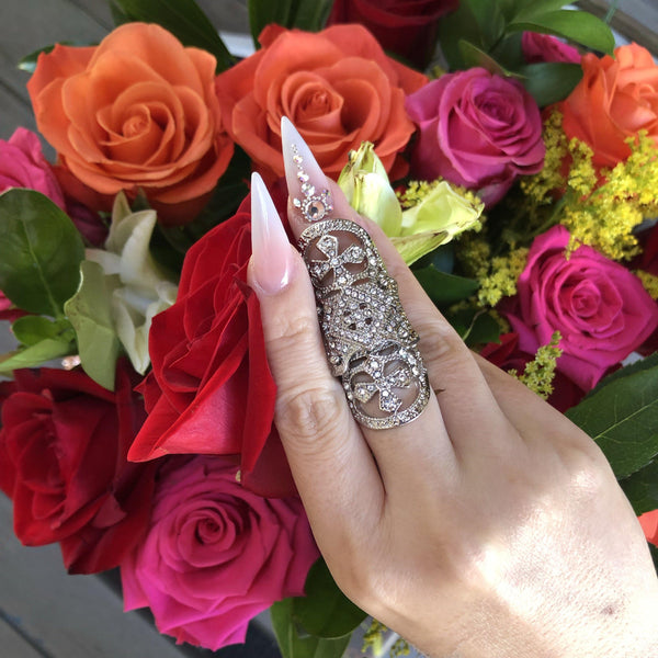 Alexandra Knuckle Ring - 1 LEFT! - The Songbird Collection