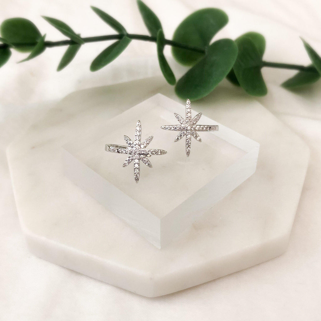 North Star Ear Cuffs - No Piercing! - The Songbird Collection