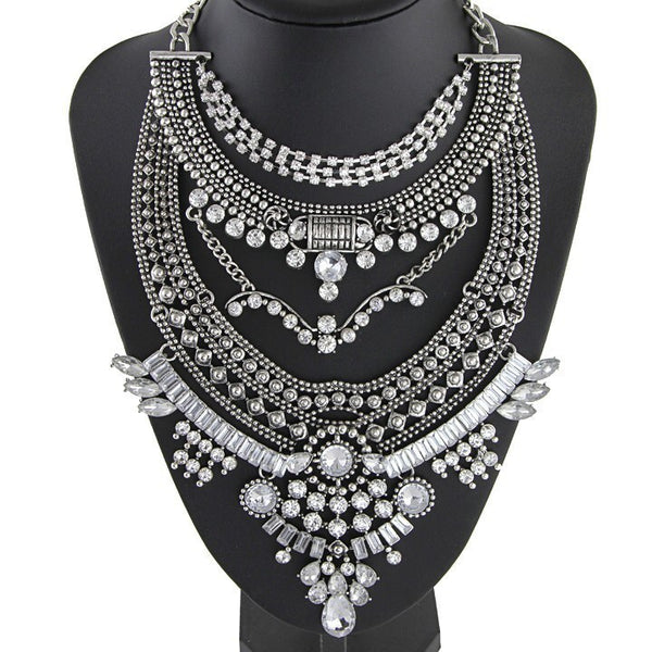 Zia Maxi Statement Necklace - The Songbird Collection