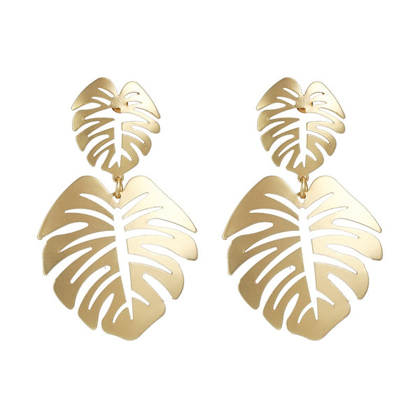Banana Bay Leaf Earrings - 7 Colors! LAST CHANCE! - The Songbird Collection