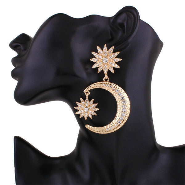 Heavenly Celestial Earrings - LOW STOCK! - The Songbird Collection