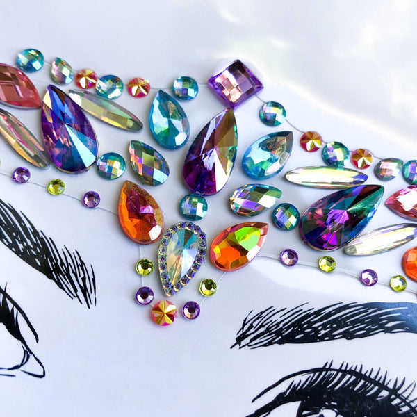 Candy Face Gems - 9 NEW Colorful Designs for 2019! - The Songbird Collection