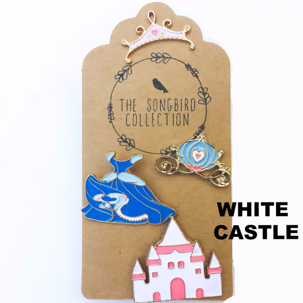 Fairy Tale Enamel Pins Set - The Songbird Collection