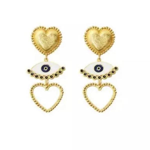Le Cœur et L'œil (The Heart and the Eye) Earrings - 3 Styles LOW STOCK!! - The Songbird Collection