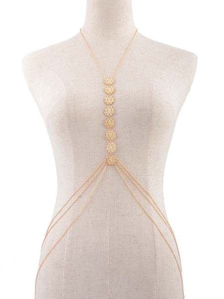 Gypsy Flower Body Chain - The Songbird Collection