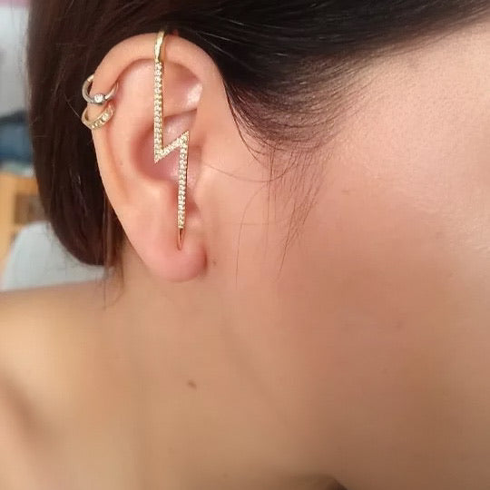 Lightning ⚡️ Ear Hook / Ear Cuff - 5 LEFT!