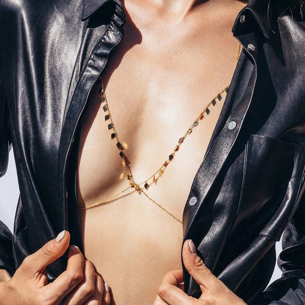 Jezebel Body + Bra Chain - The Songbird Collection