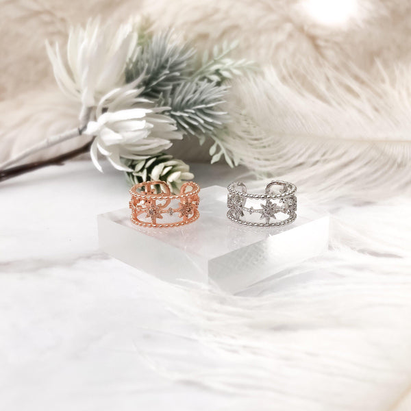 Starlight Ring - Now in Rose Gold too!