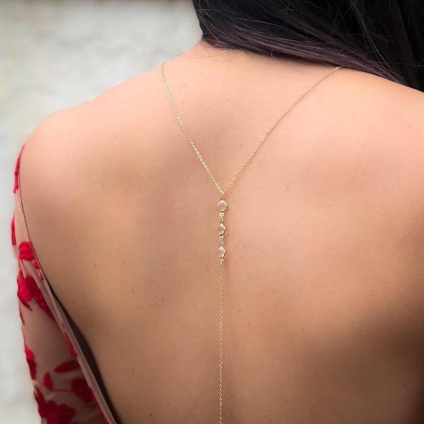Morning Dew Backdrop Necklace - The Songbird Collection