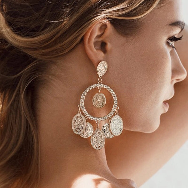 Alessandra Chandelier Earrings - RESTOCKED!! - The Songbird Collection