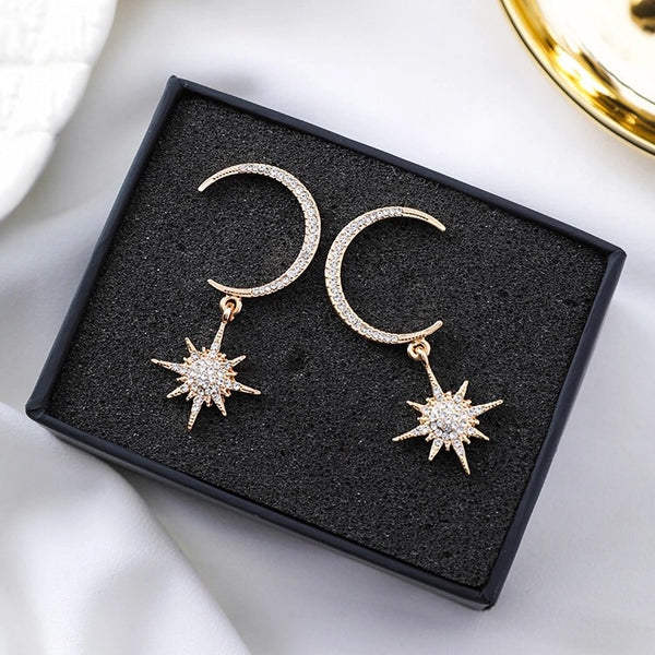 Goodnight Moon Earrings - Now in SILVER TOO! - The Songbird Collection
