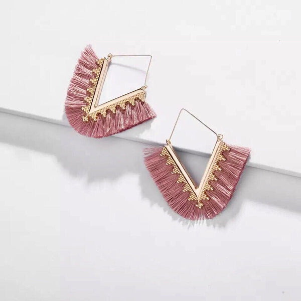 Shanti Tassel Earrings -9 Colors! LAST CHANCE! - The Songbird Collection