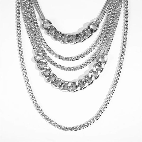 Chévere Layered Chain Necklace - LOW STOCK!