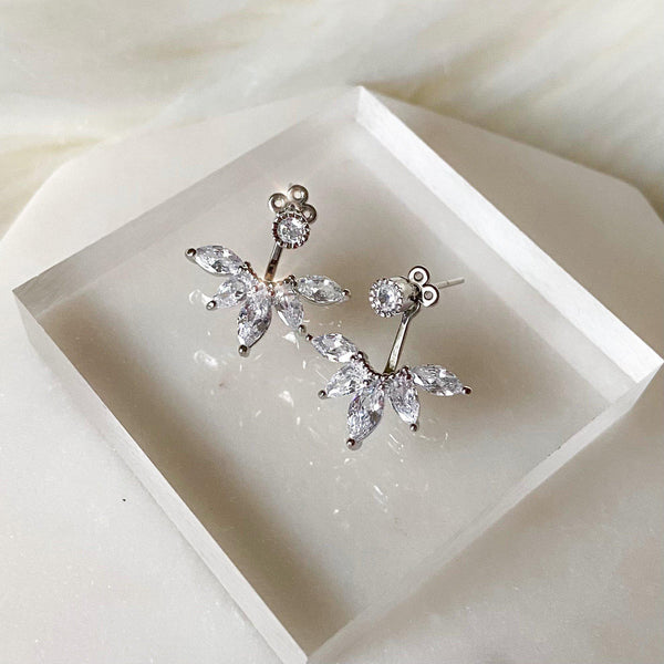 Tiara Ear Jacket Earrings - LOW STOCK!