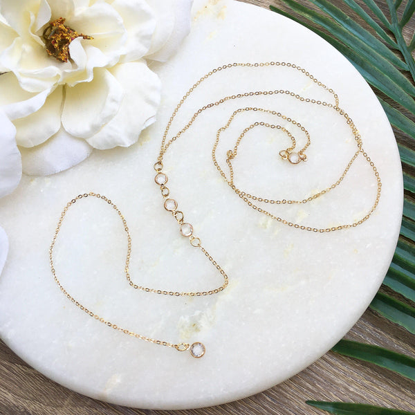 Morning Dew Backdrop Necklace - Fan Fav! - The Songbird Collection