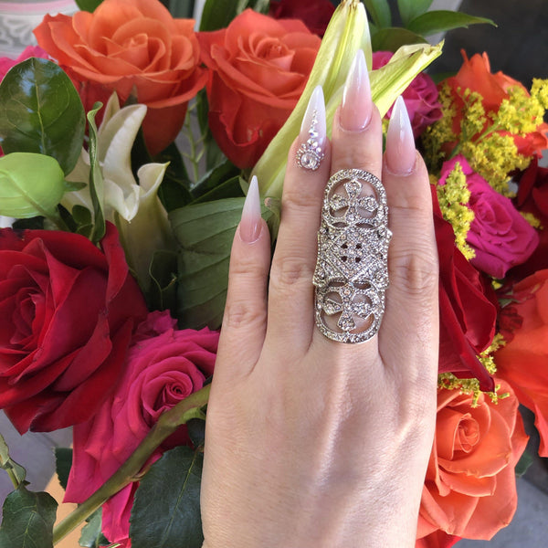 Alexandra Knuckle Ring - Just a Couple Left! - The Songbird Collection