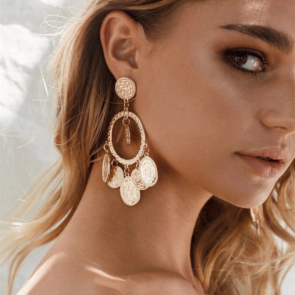 Alessandra Chandelier Earrings - The Songbird Collection