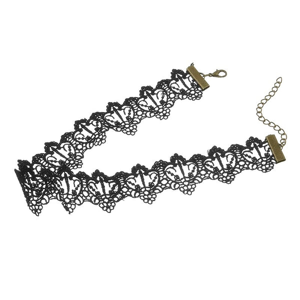 Snow White Lace Choker - LOW STOCK! - The Songbird Collection