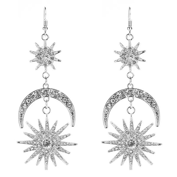 Sun, Star & Moon Earrings - Fan Fave - 3 Colors - RESTOCKED & ON SALE~!! - The Songbird Collection