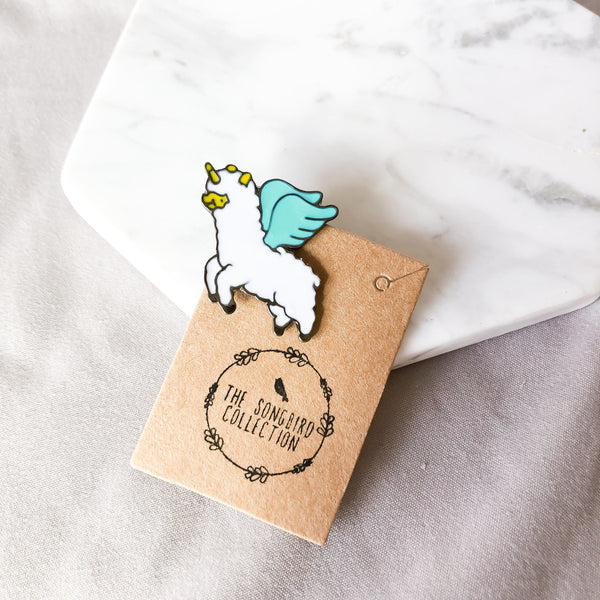 Friends of Unicorns Enamel Pins - The Songbird Collection