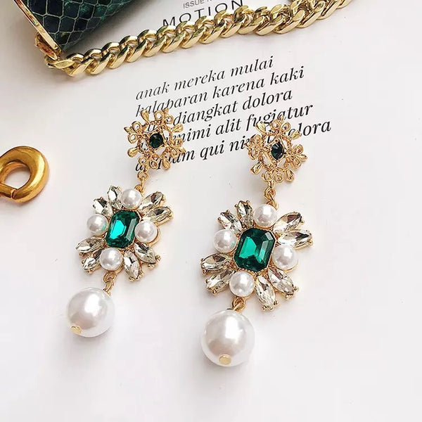 Regal & Majesty Baroque Style Earrings - The Songbird Collection