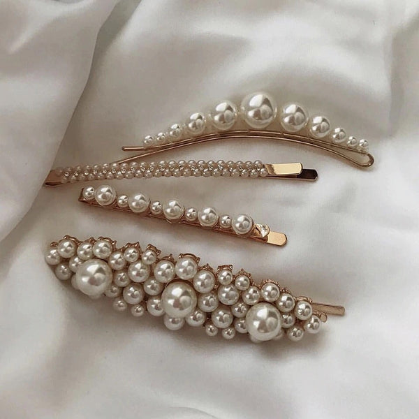 Pearl Hair Pins - 4 Styles to Choose From! - The Songbird Collection
