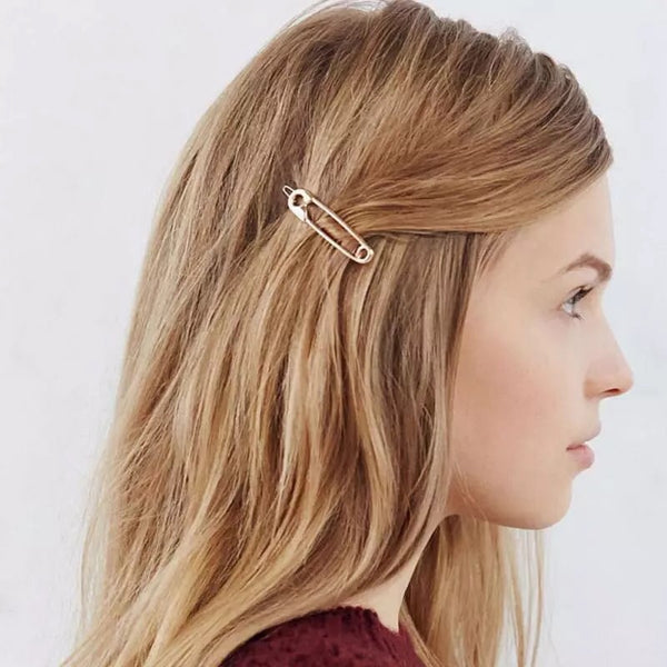 Safety Pin Hair Pin Set (Set of 2)