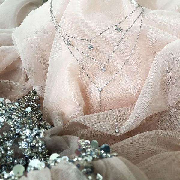 Cadence Starlight Layered Necklace - RESTOCKED!! - The Songbird Collection