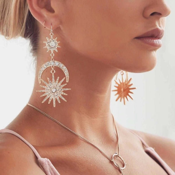 Sun, Star & Moon Earrings - HOORAY! BACK IN STOCK!! - The Songbird Collection