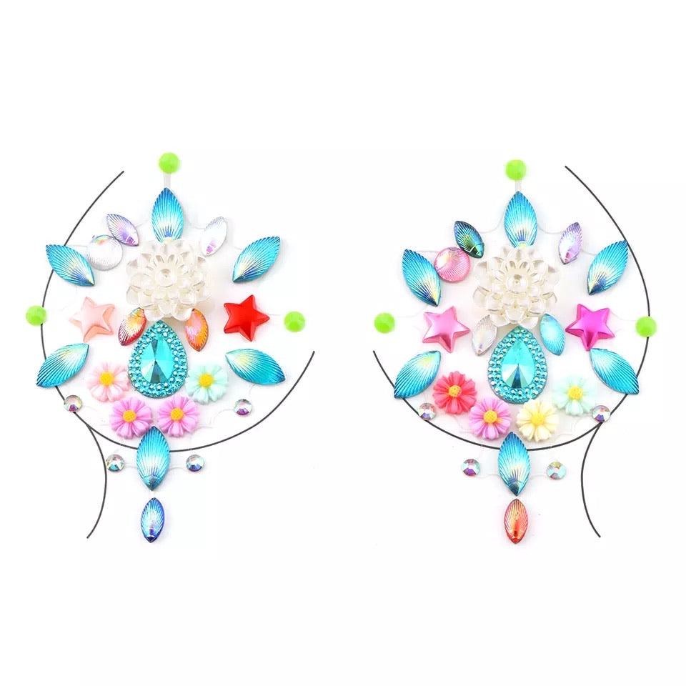 Boobie Gem Pasties - 15 DESIGNS RESTOCKED for FESTIVAL SEASON 2020! - The Songbird Collection