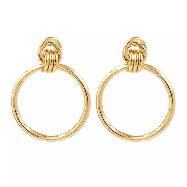 Kenzie Hoop Earrings - The Songbird Collection